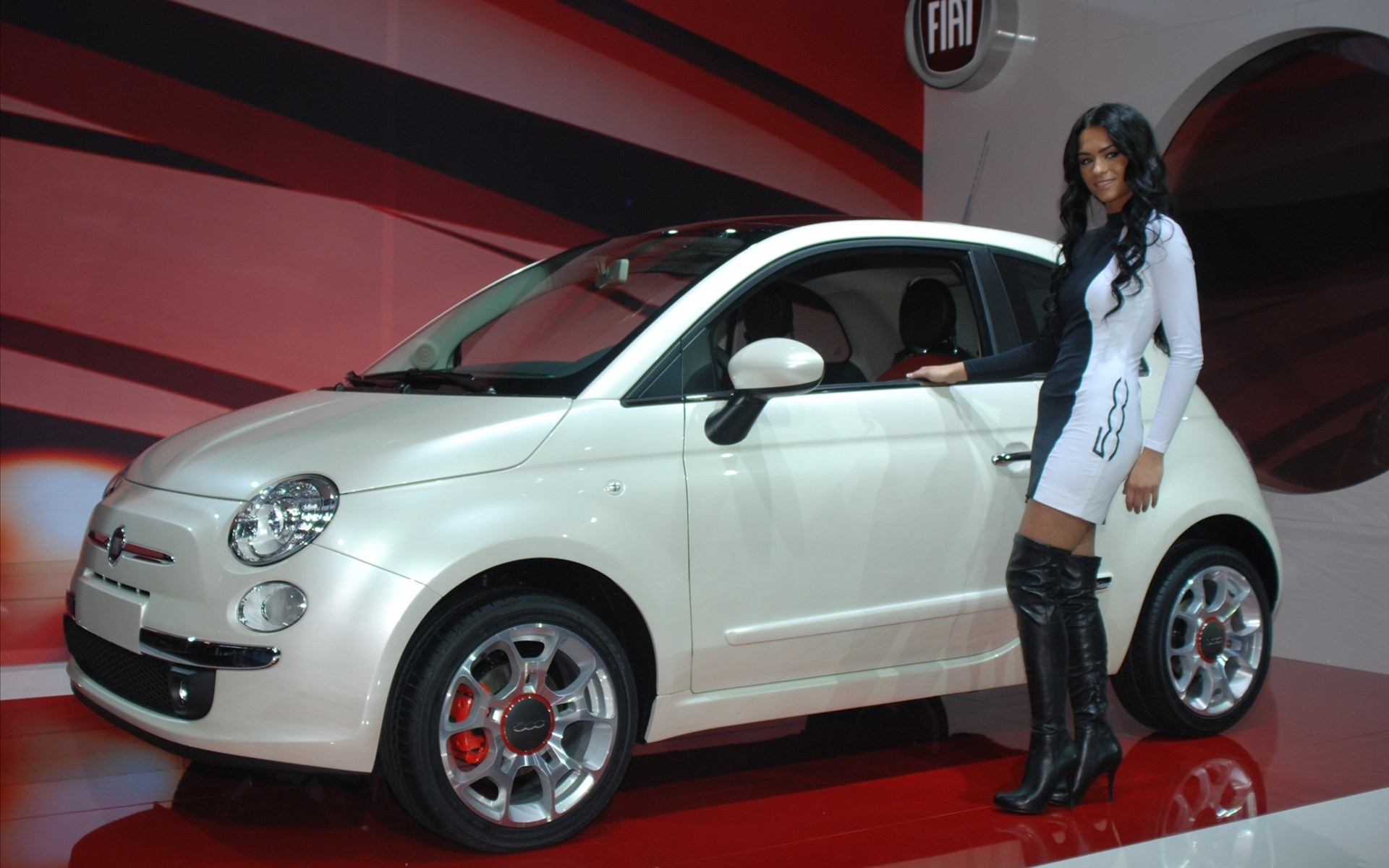 boots woman Sports Fiat HD Wallpaper