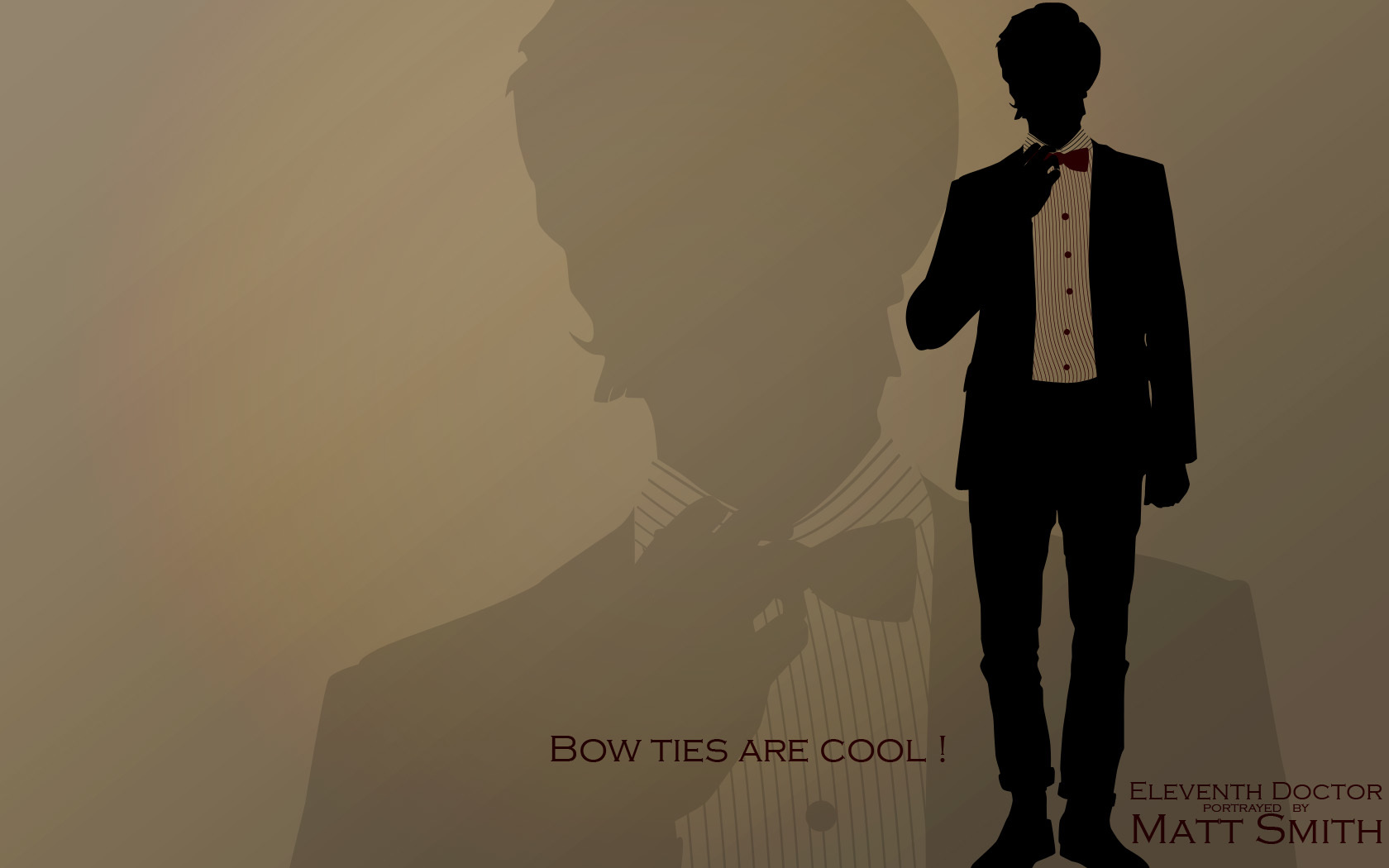 bow ties by tibots HD Wallpaper