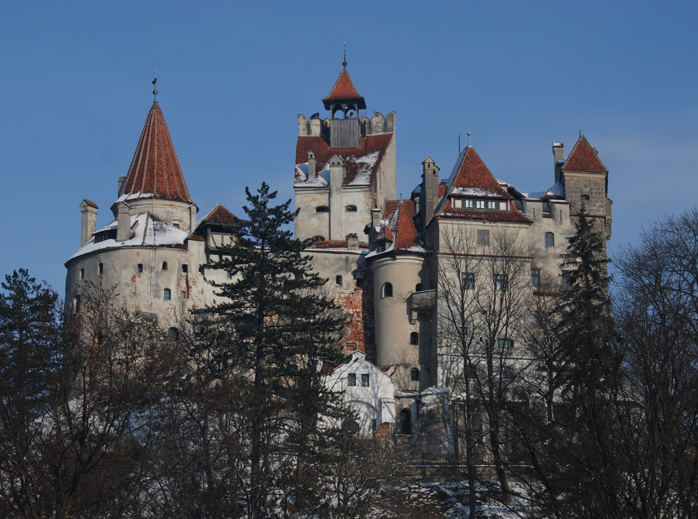 Bran castle romania also HD Wallpaper