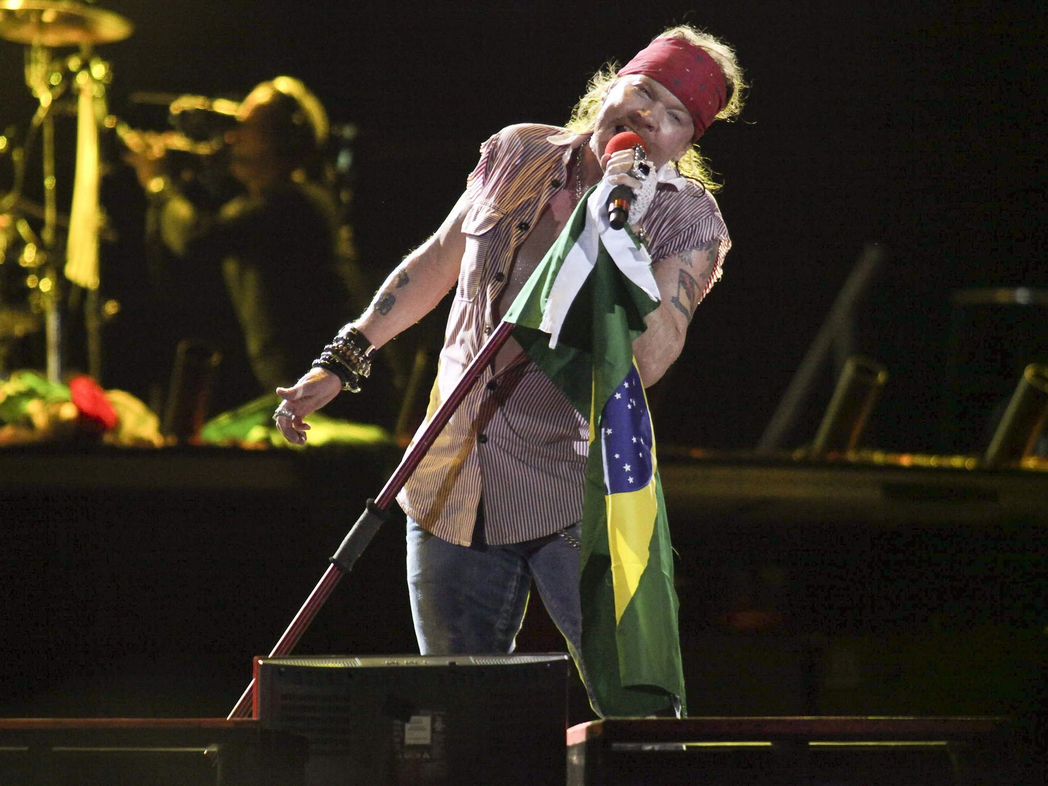 Brazil guns n roses HD Wallpaper
