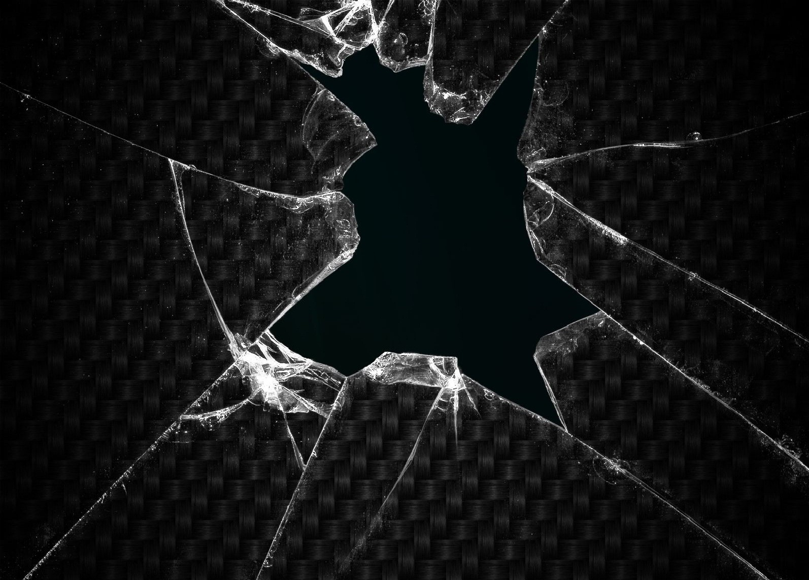 broken screen broken glass HD Wallpaper