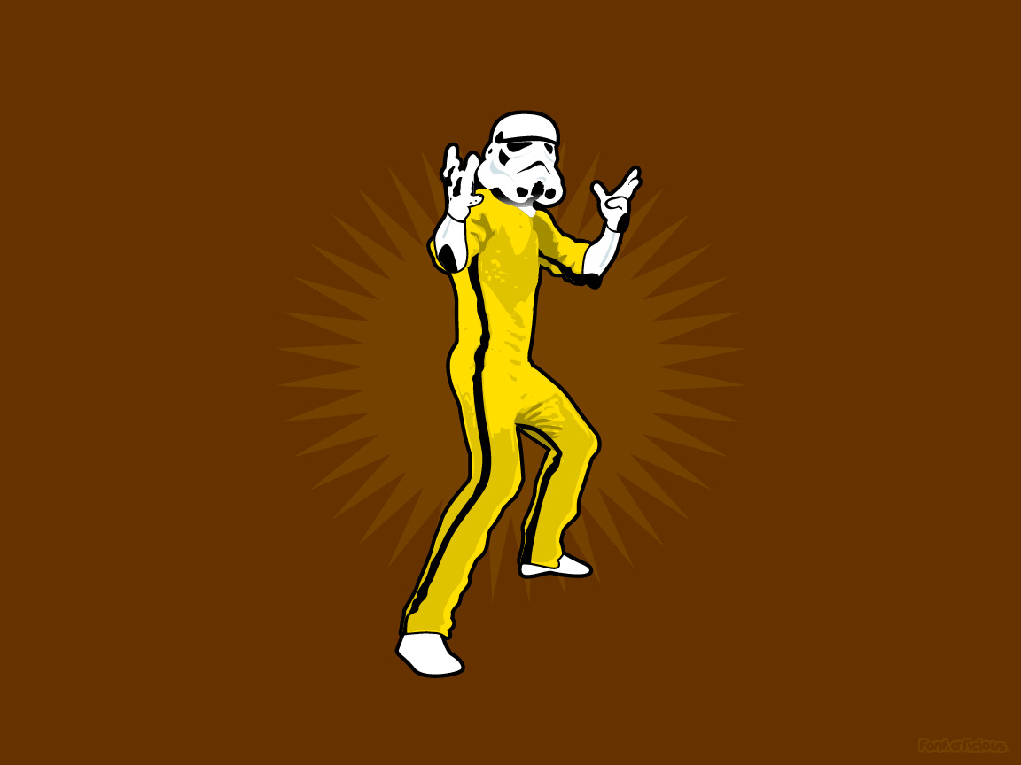 Bruce lee stormtroopers pm HD Wallpaper