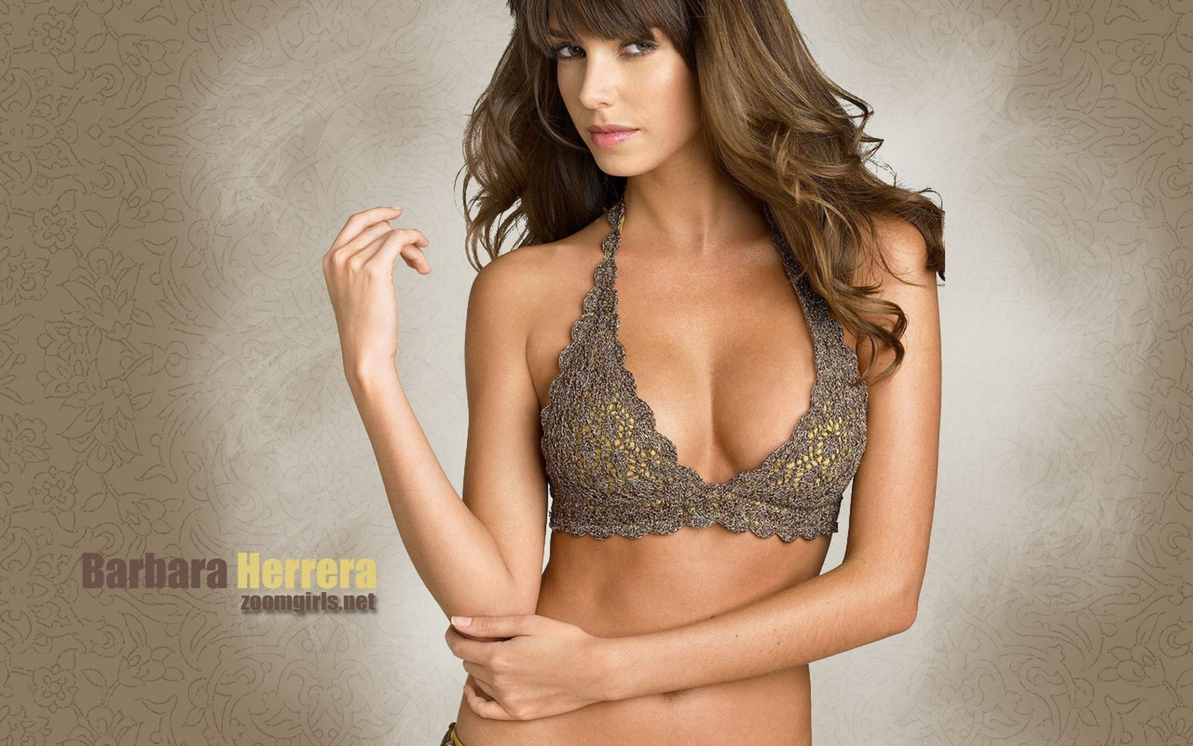brunettes woman bra Barbara HD Wallpaper