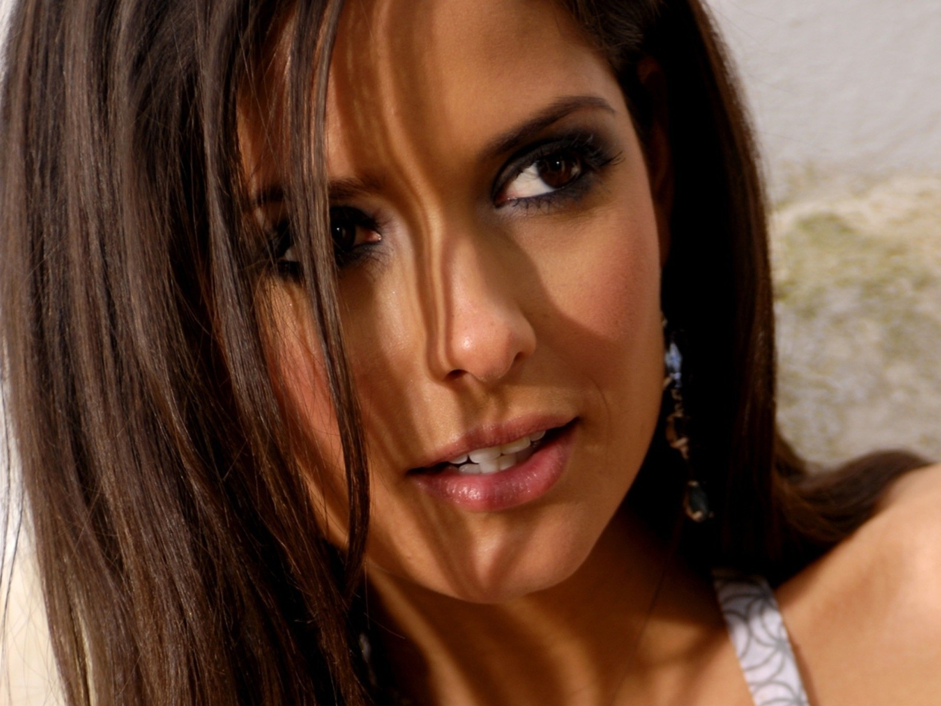 brunettes woman carla ossa HD Wallpaper