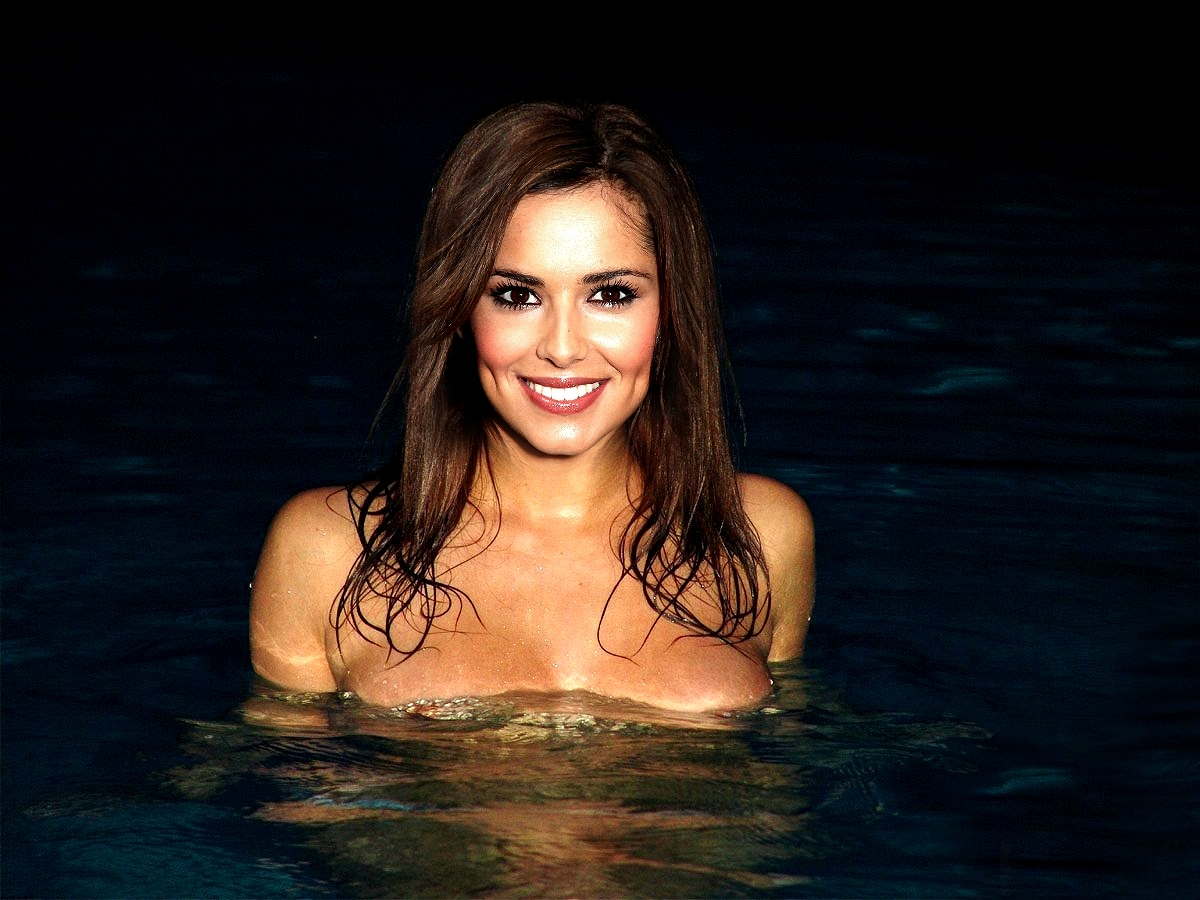 brunettes woman cheryl cole HD Wallpaper