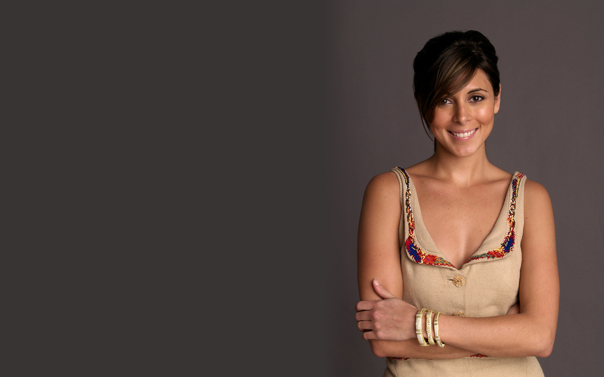 brunettes woman Jamie Lynn HD Wallpaper