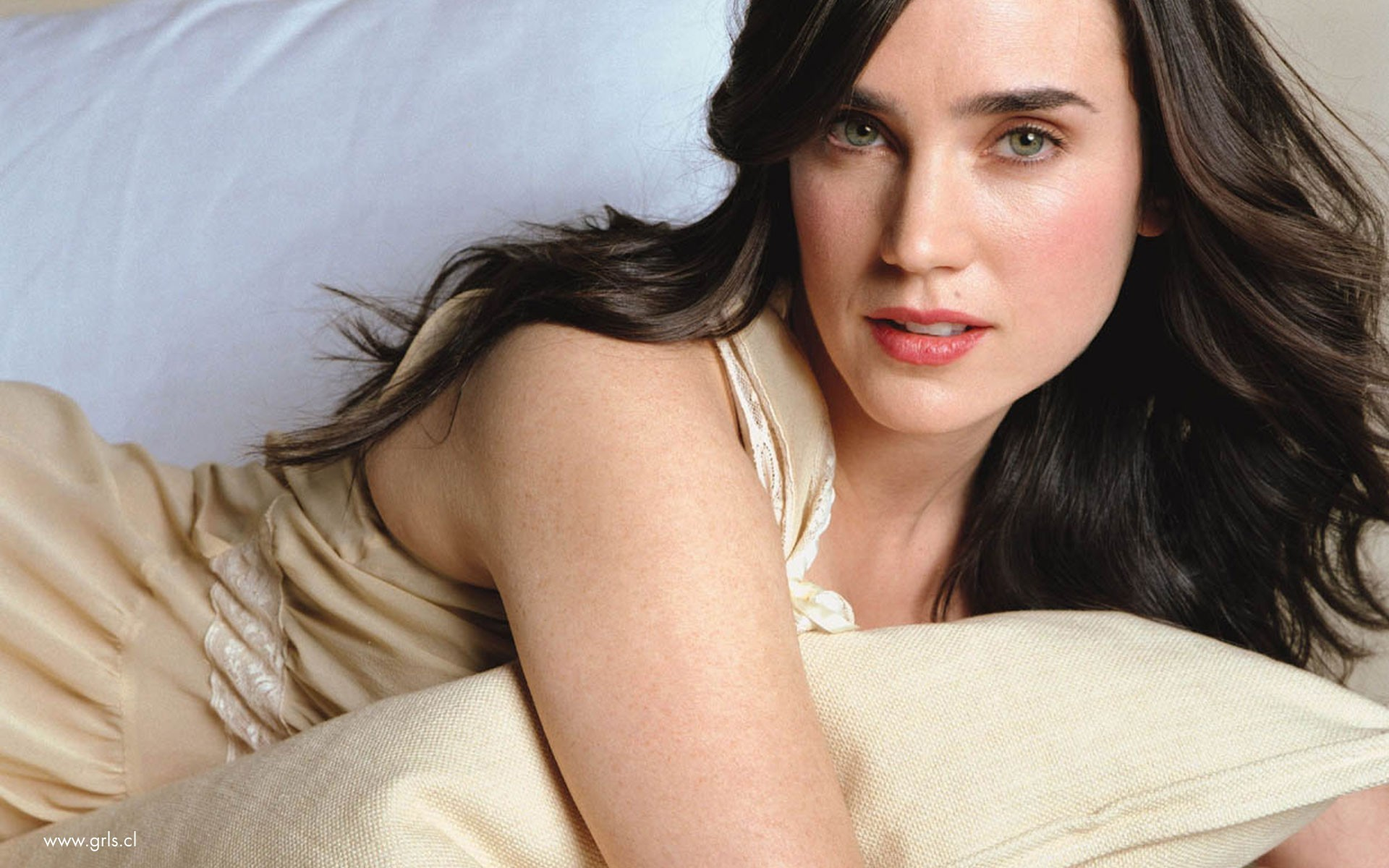 brunettes woman Jennifer Connelly HD Wallpaper