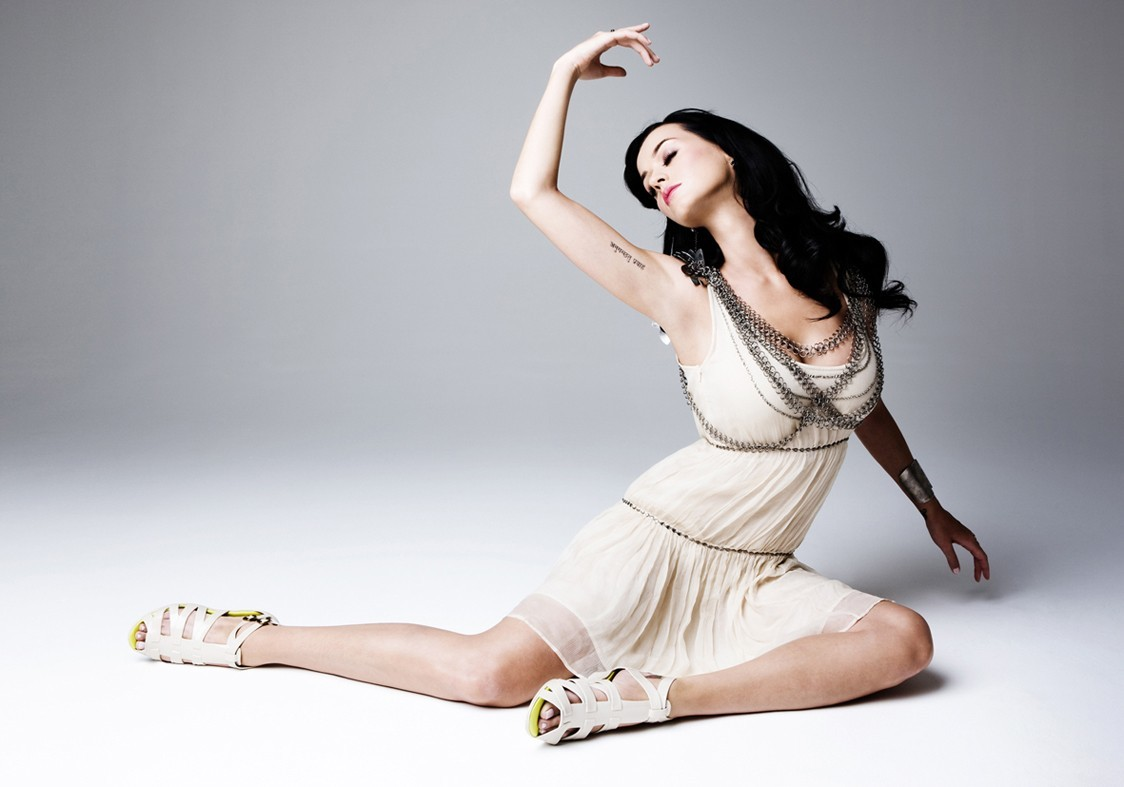 brunettes woman katy perry HD Wallpaper
