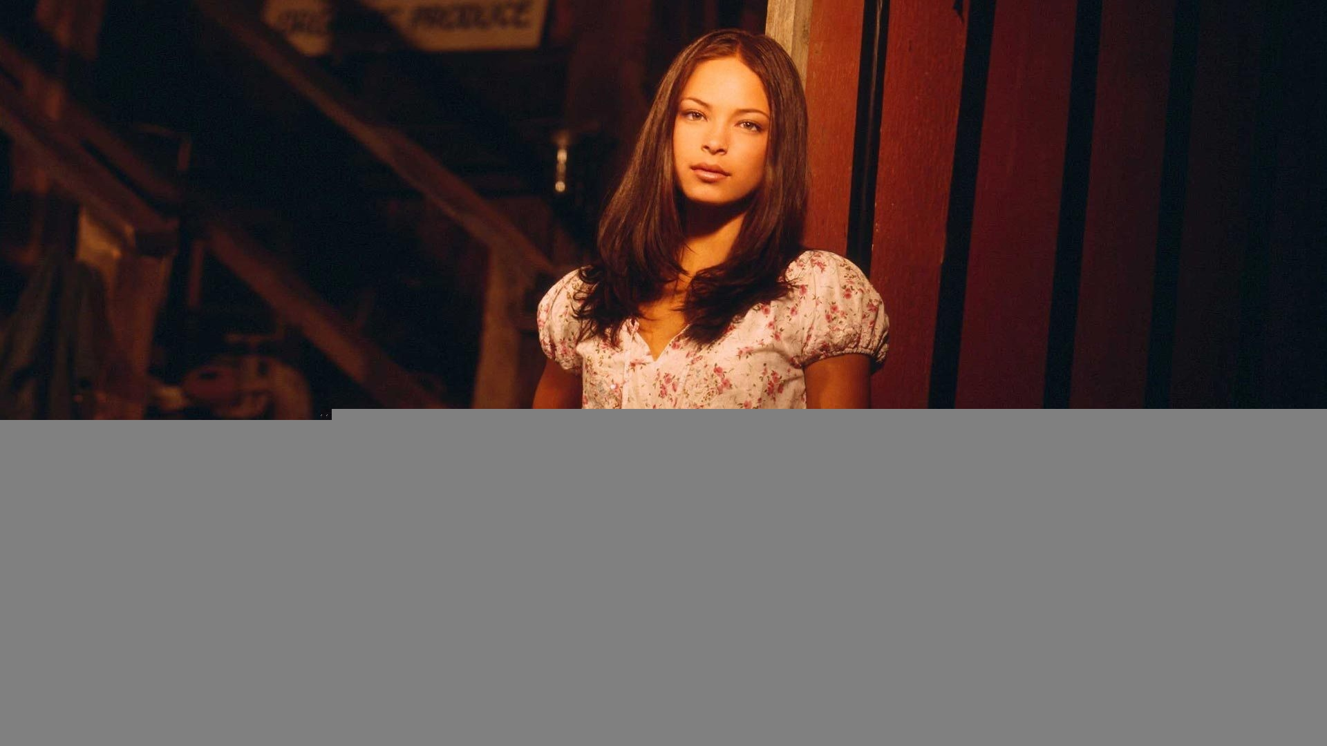 brunettes woman Kristin Kreuk HD Wallpaper