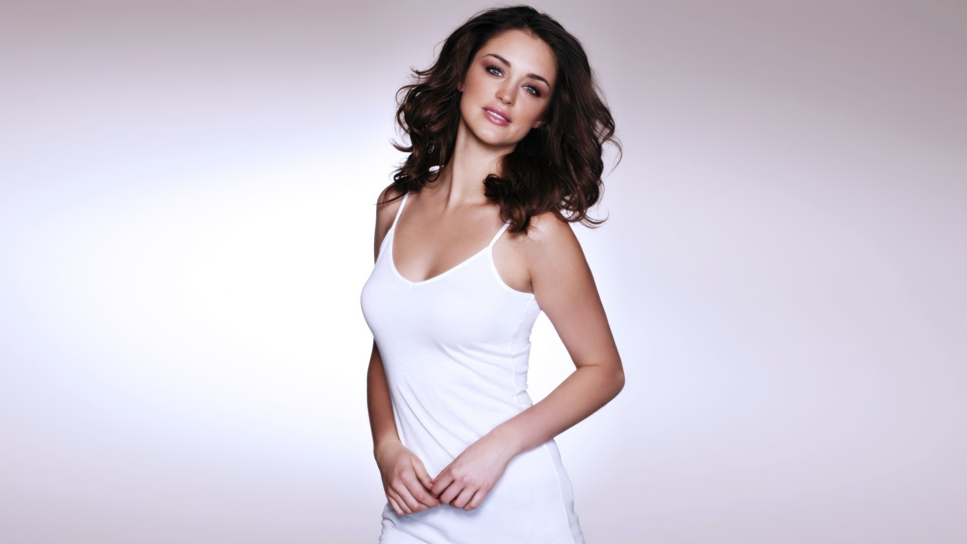 brunettes woman lauren budd HD Wallpaper