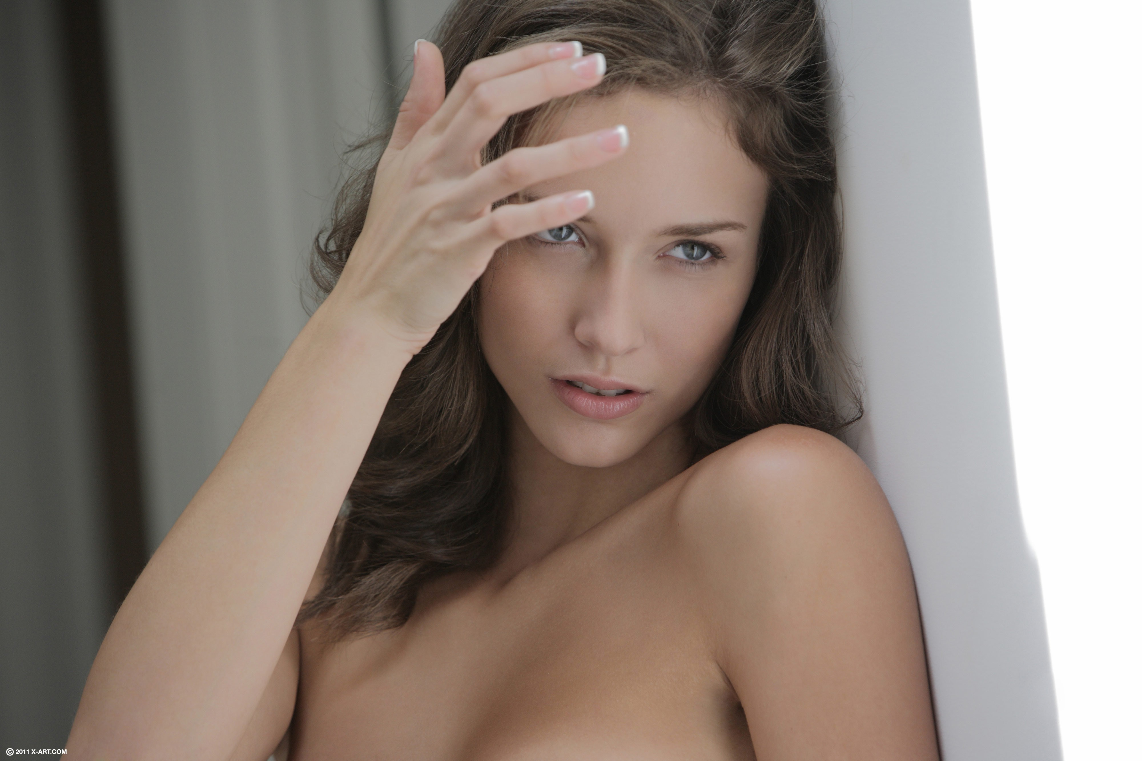 brunettes woman malena morgan