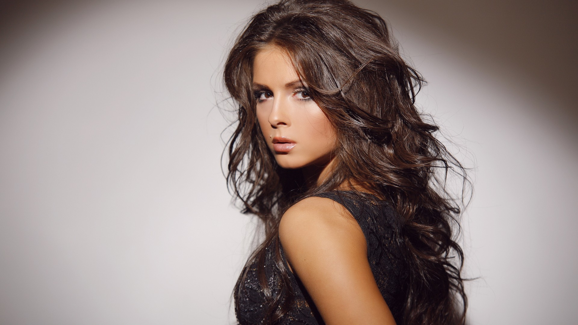 brunettes woman Nusha Nyusha HD Wallpaper