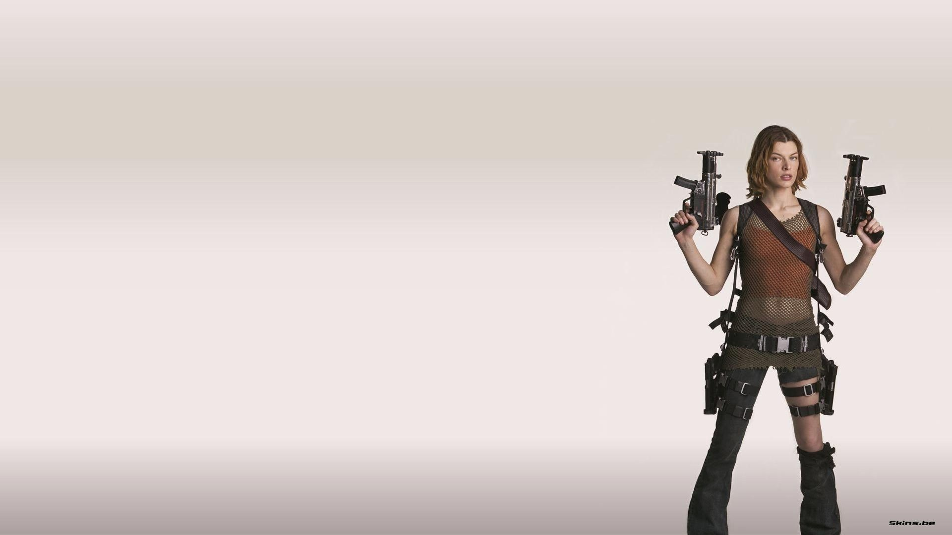 brunettes woman Resident Evil HD Wallpaper