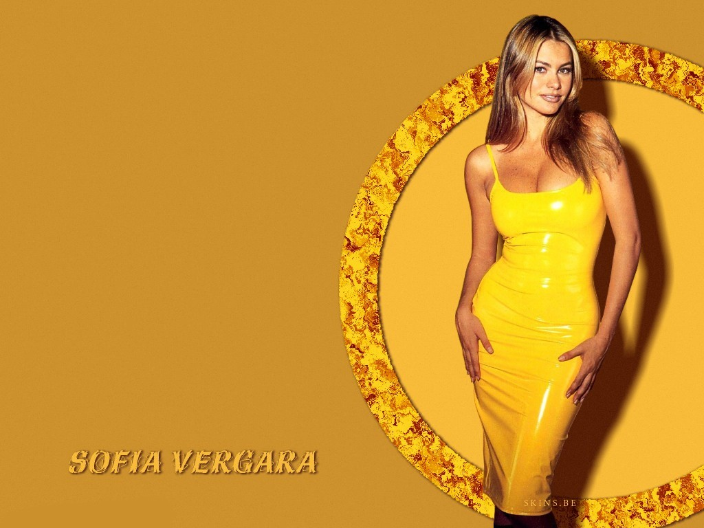 brunettes woman sofia vergara HD Wallpaper
