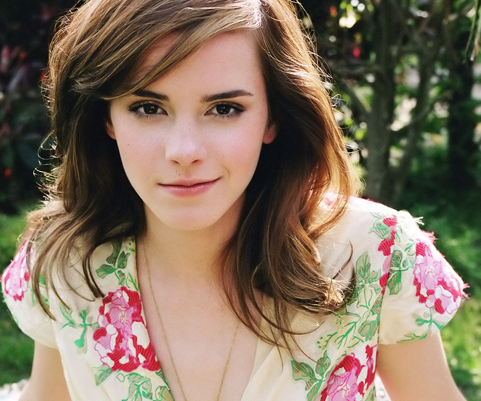 brunettes Women Emma Watson HD Wallpaper