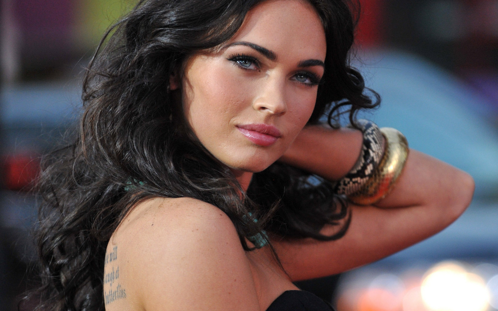 brunettes Women Megan fox HD Wallpaper