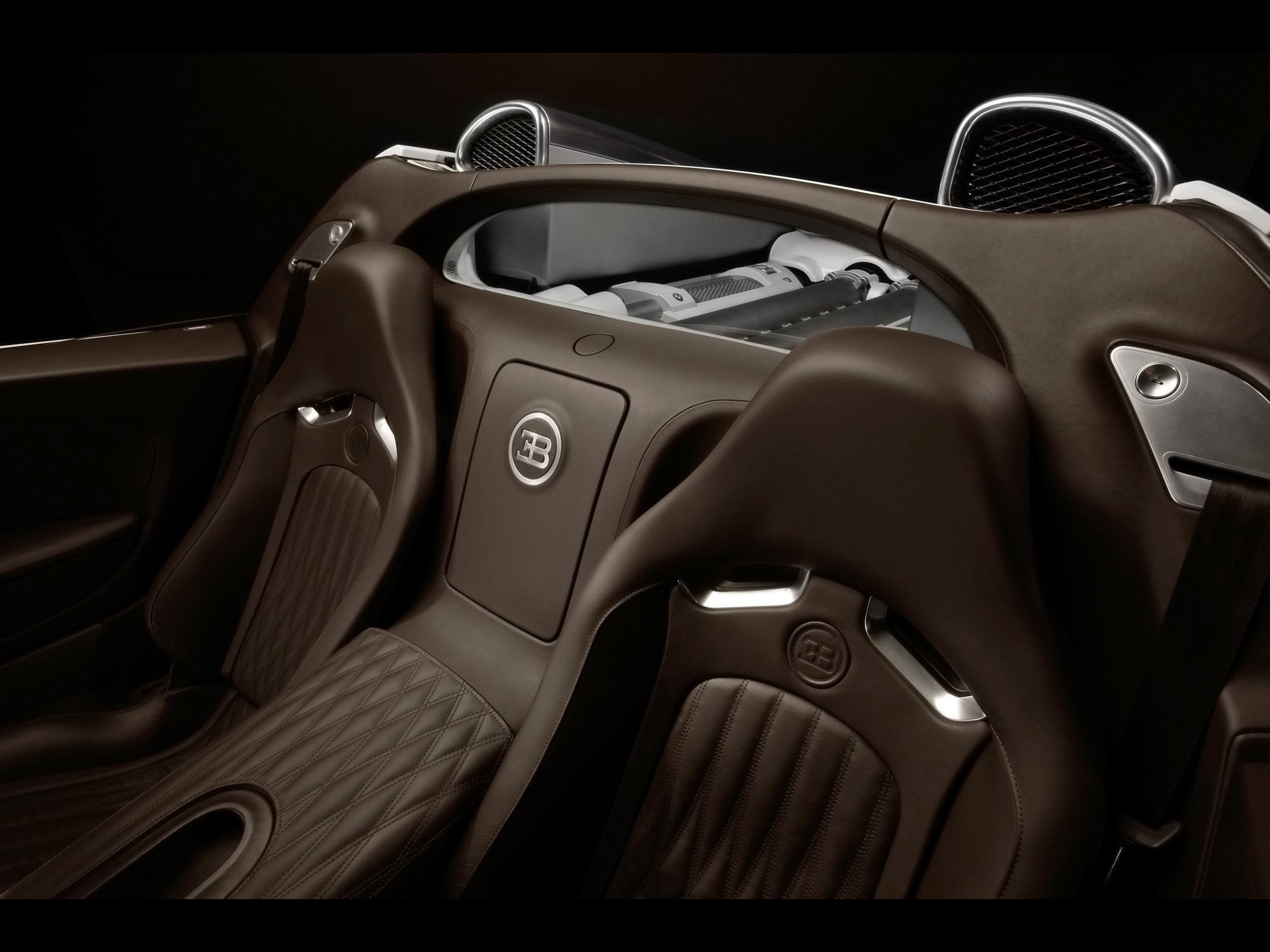 bugatti veyron interior car HD Wallpaper