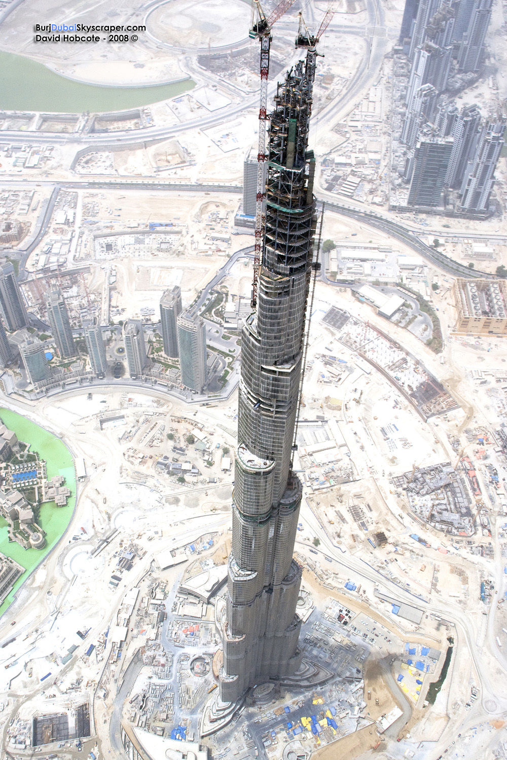 burj dubai high HD Wallpaper