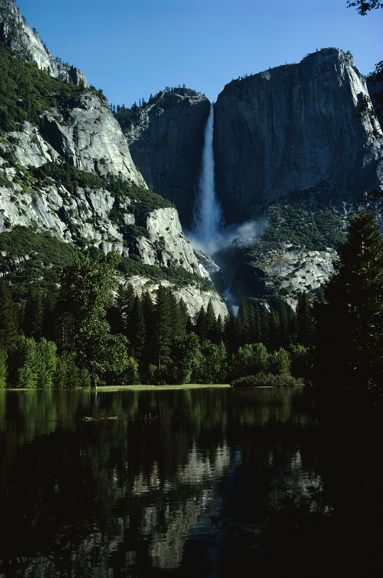 California waterfalls national park HD Wallpaper