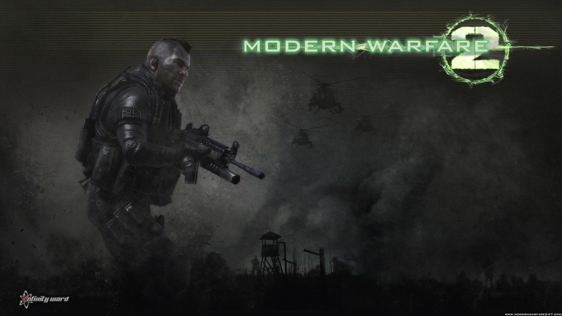 call of Duty modern HD Wallpaper