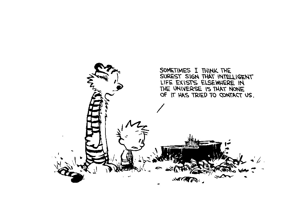 Calvin and Hobbes Truth HD Wallpaper