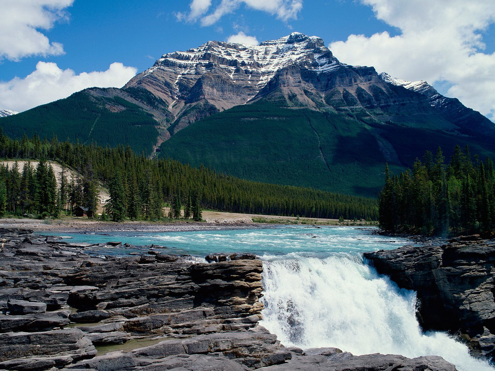 Canada alberta nature athabasca HD Wallpaper