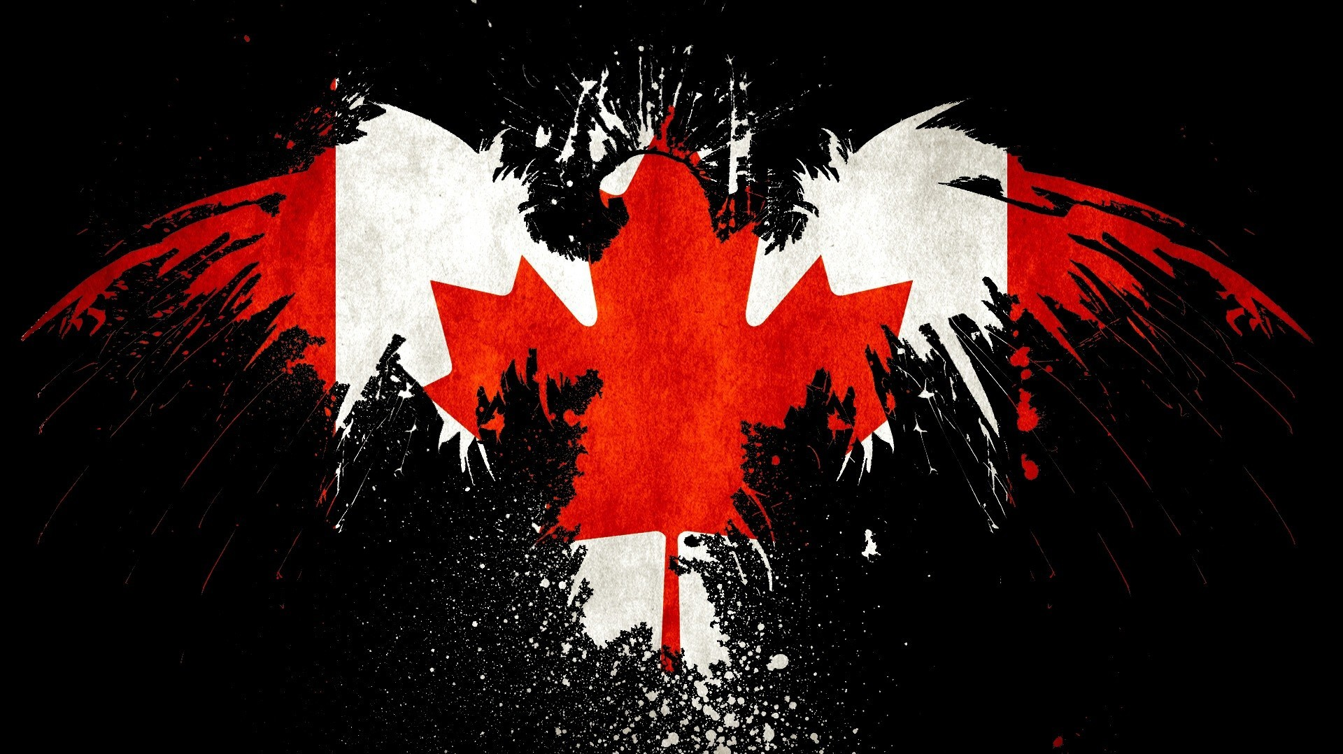 Canada Canadian flag HD Wallpaper