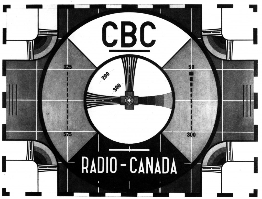 Canada television cbc testpattern HD Wallpaper