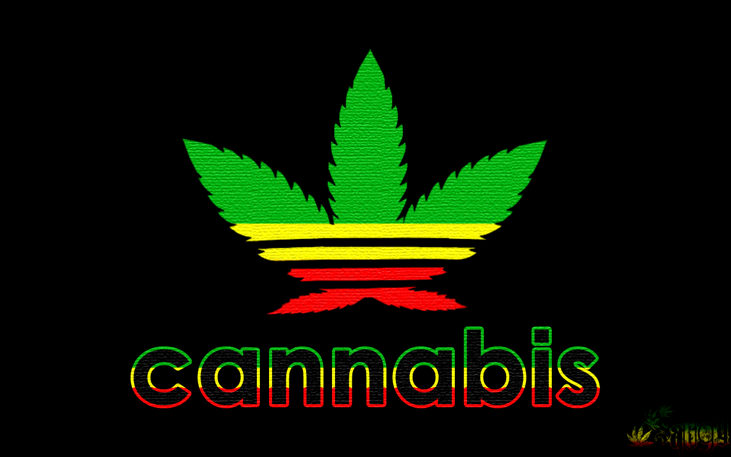 Cannabis Superstar II by HD Wallpaper