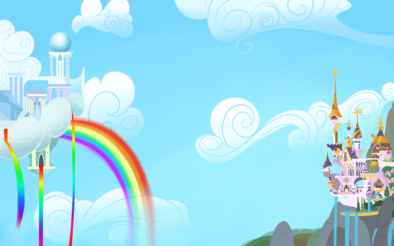 canterlot My little pony HD Wallpaper
