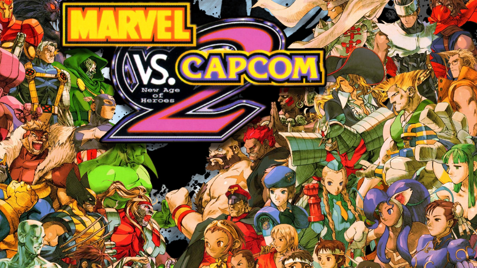 capcom marvel vs comics HD Wallpaper