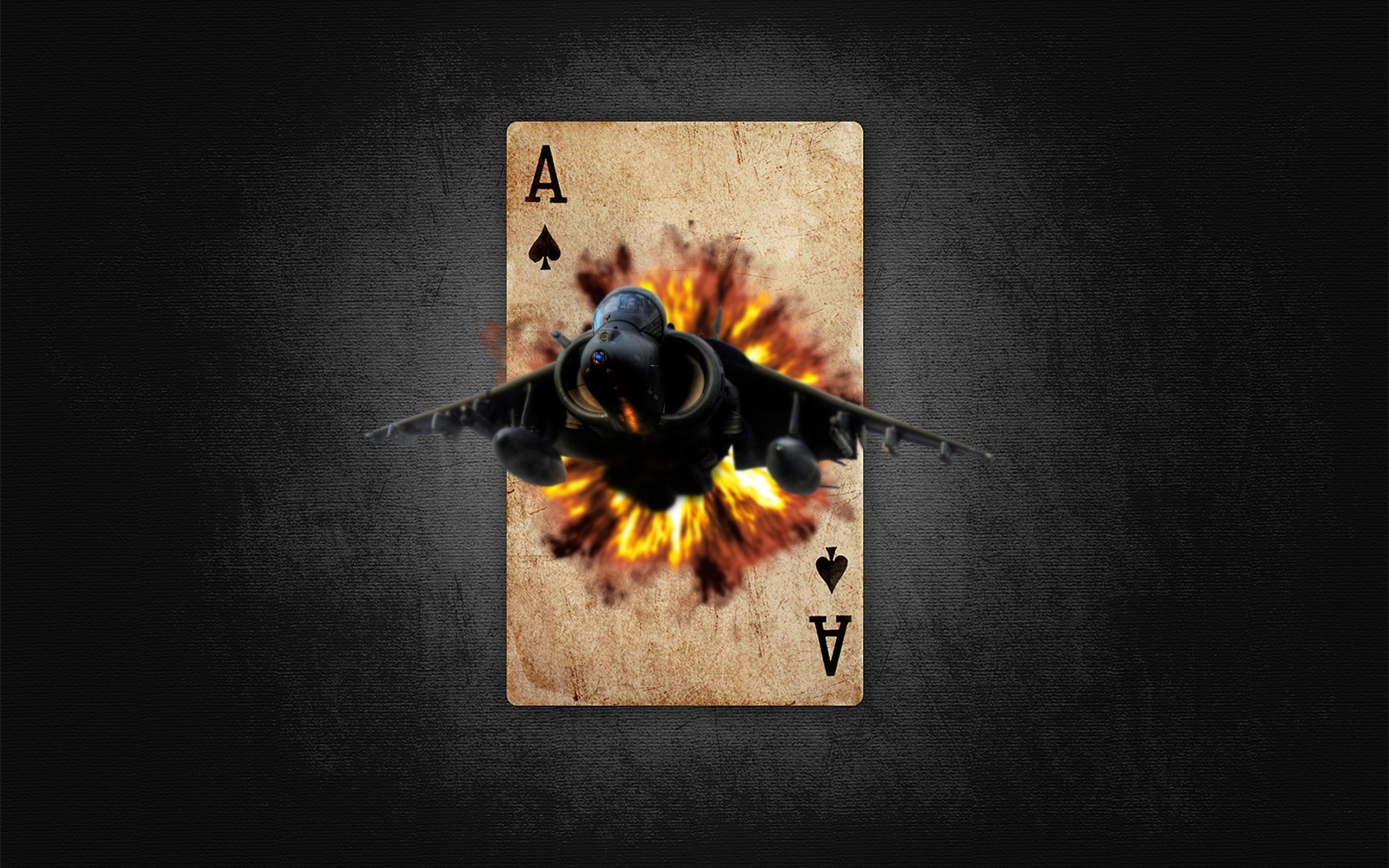 Cards pilot ace spade HD Wallpaper