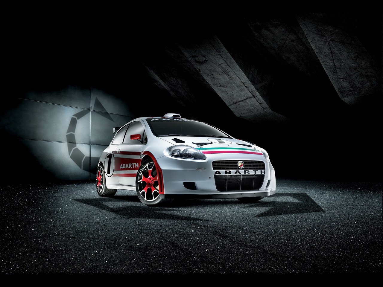 cars abarth Fiat Car HD Wallpaper