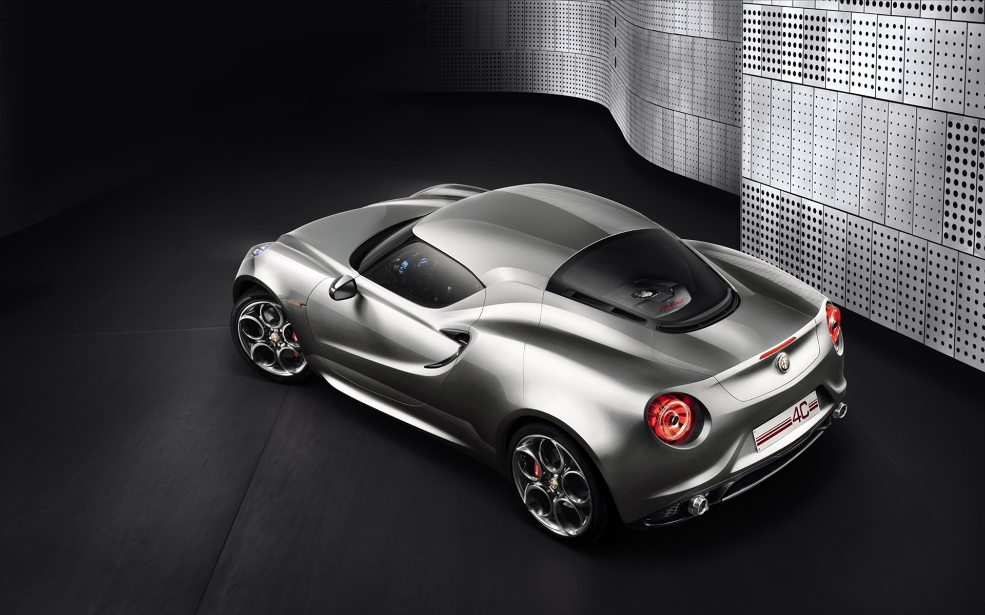 cars Alfa Romeo concept HD Wallpaper