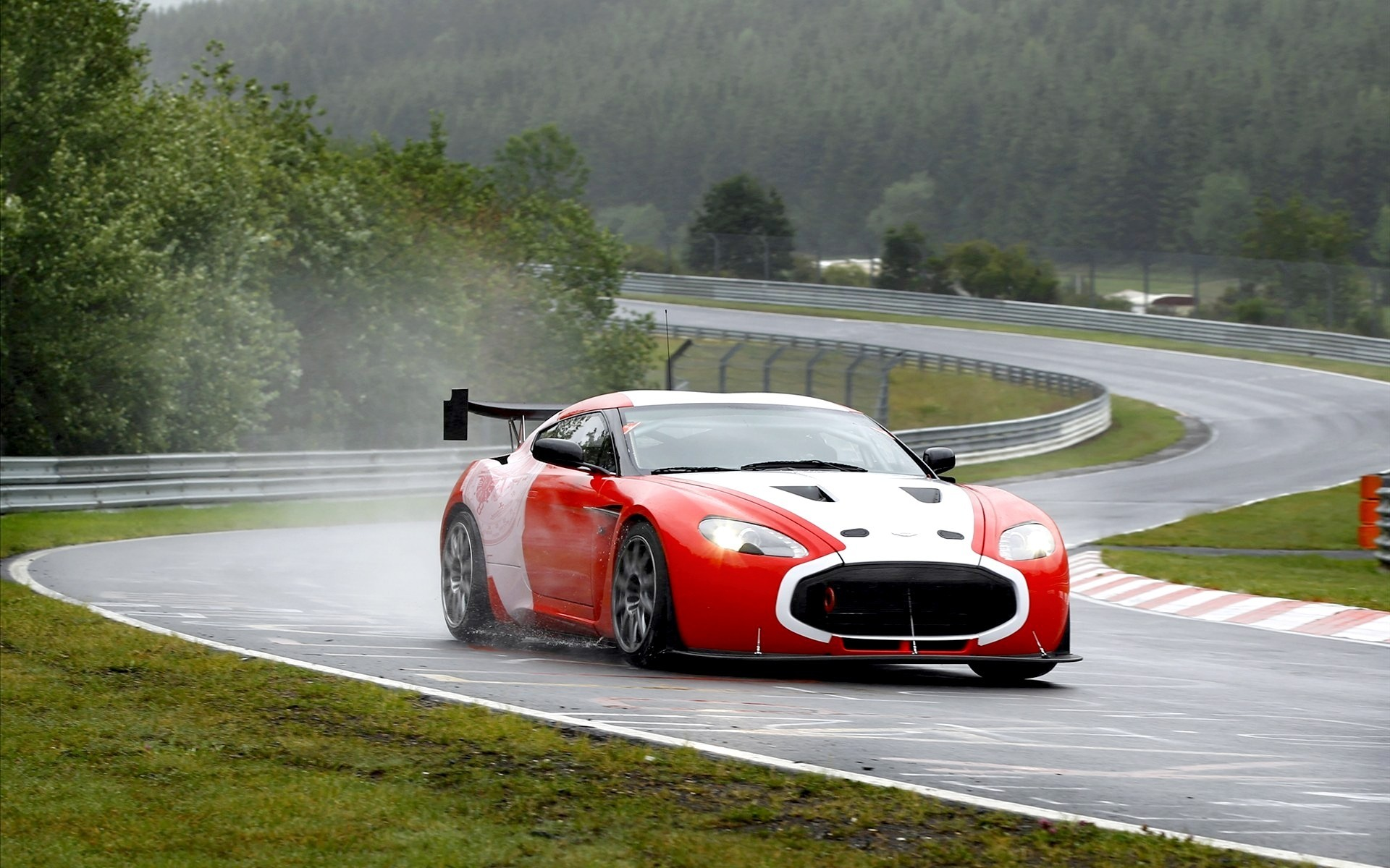 cars Aston Martin Nürburgring HD Wallpaper