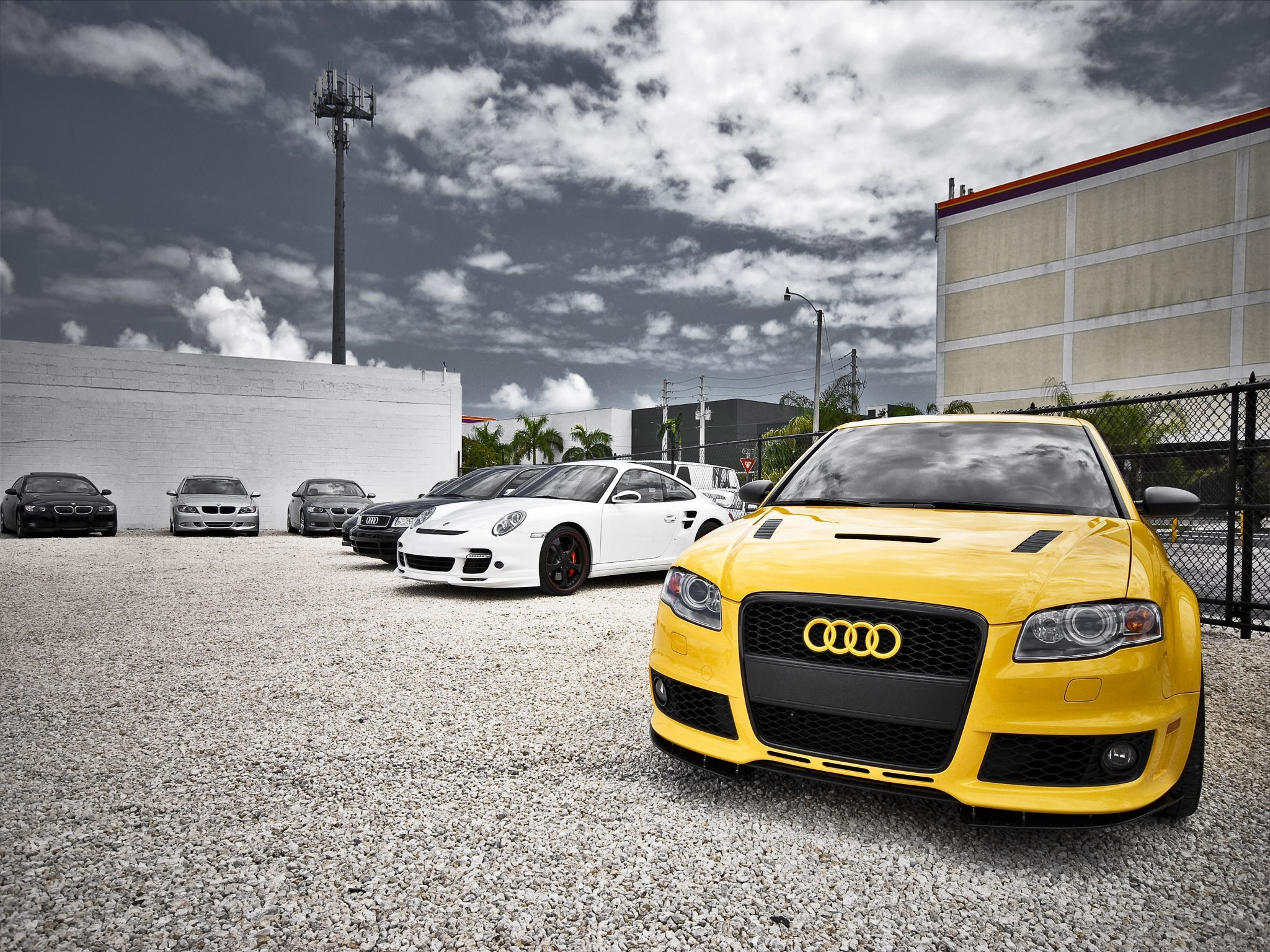 cars Audi HD Wallpaper