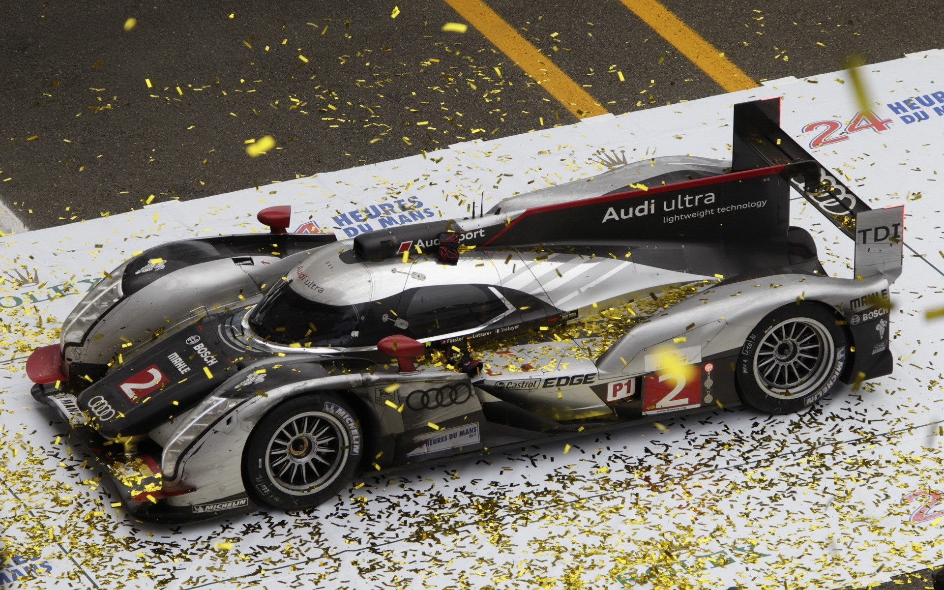 cars Audi Audi R18 HD Wallpaper