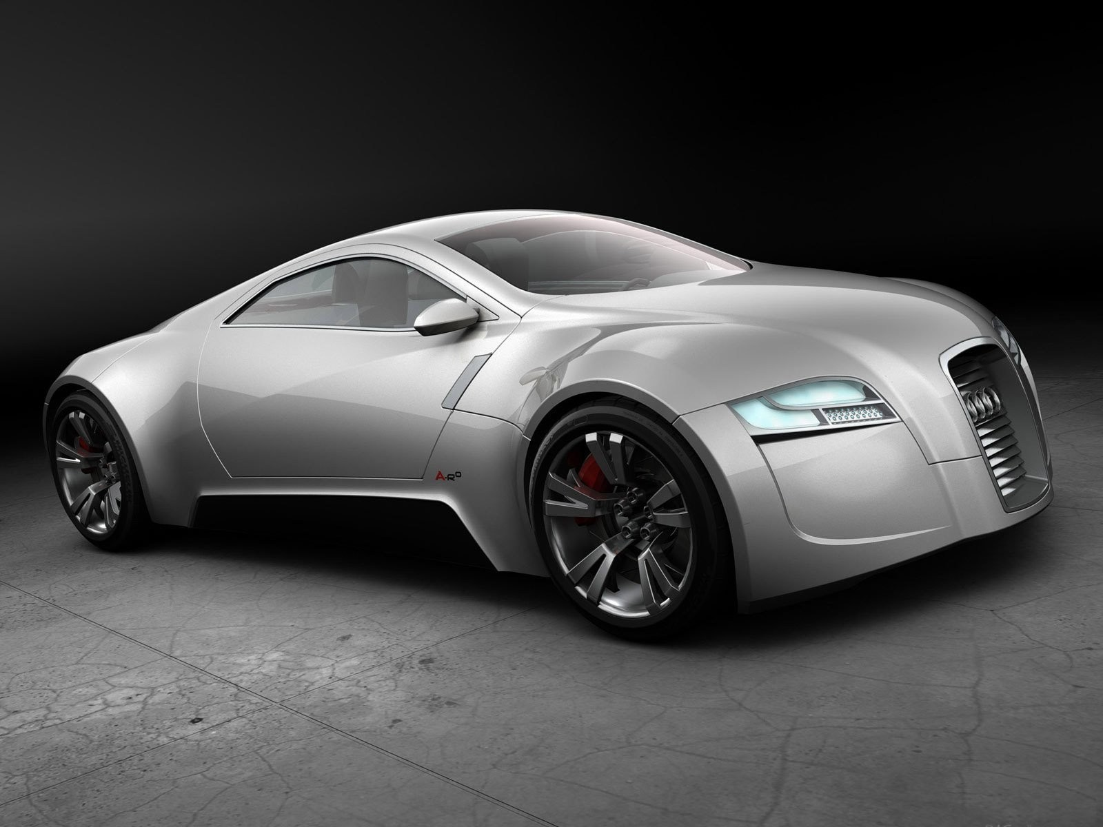 cars Audi concept art HD Wallpaper
