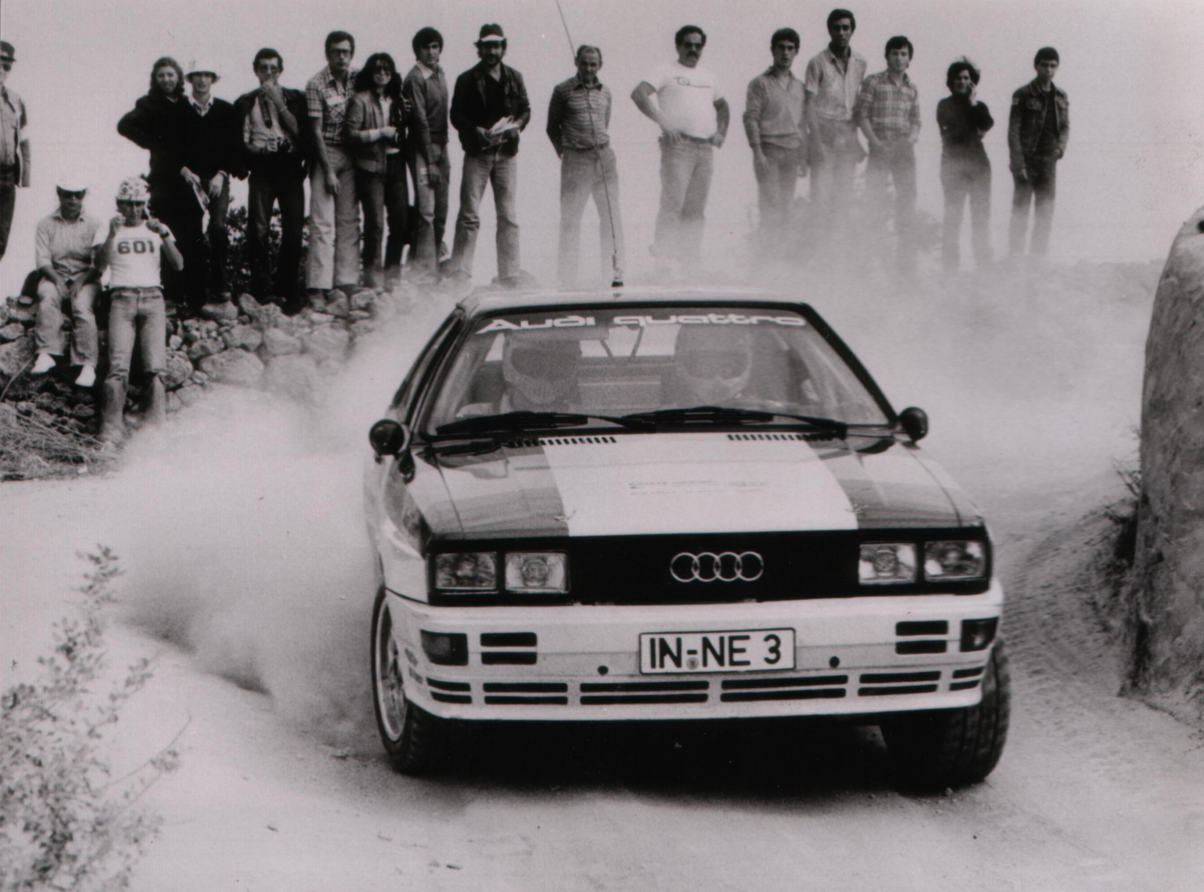 cars Audi dust rally HD Wallpaper
