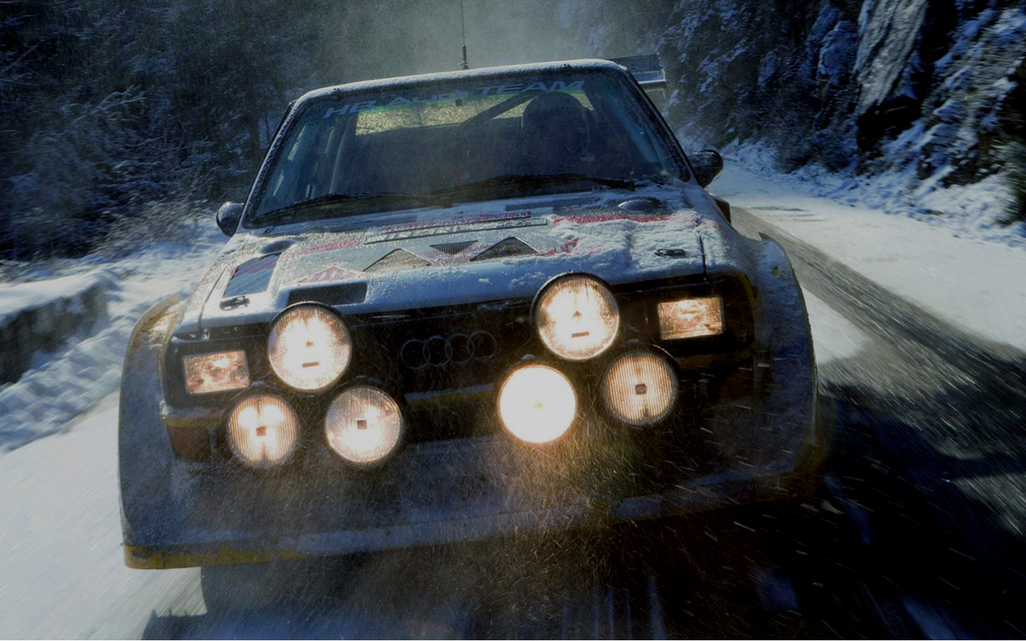 cars Audi rally Quattro HD Wallpaper