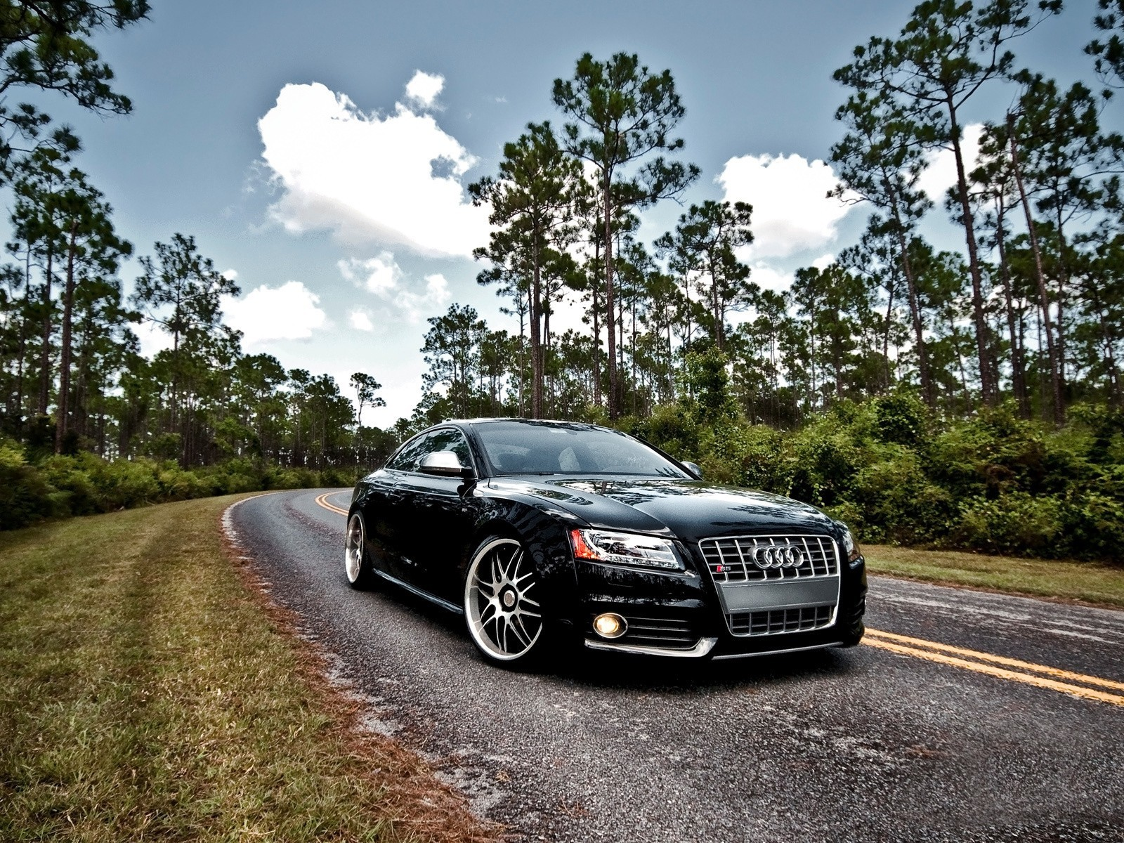 cars Audi roads audi HD Wallpaper