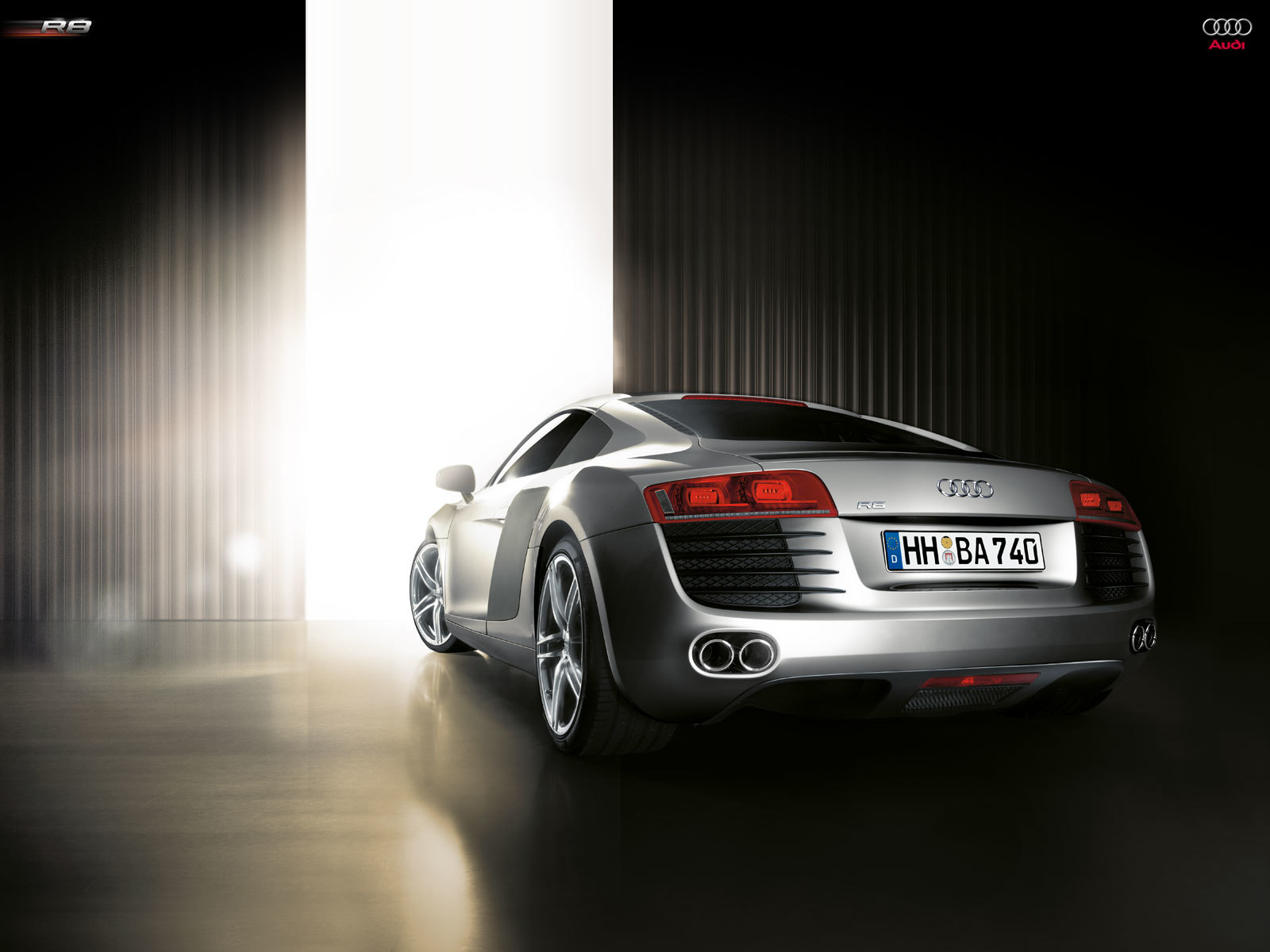 cars Audi silver vehicles HD Wallpaper