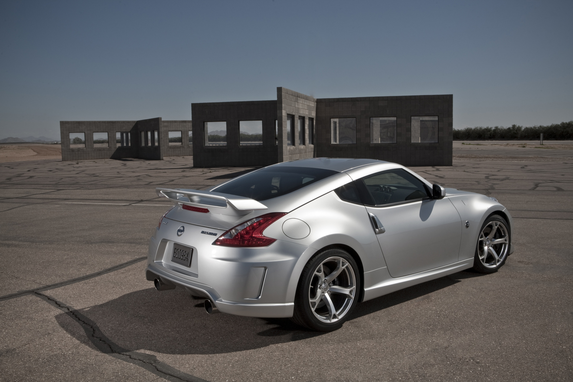 cars back view nissan HD Wallpaper
