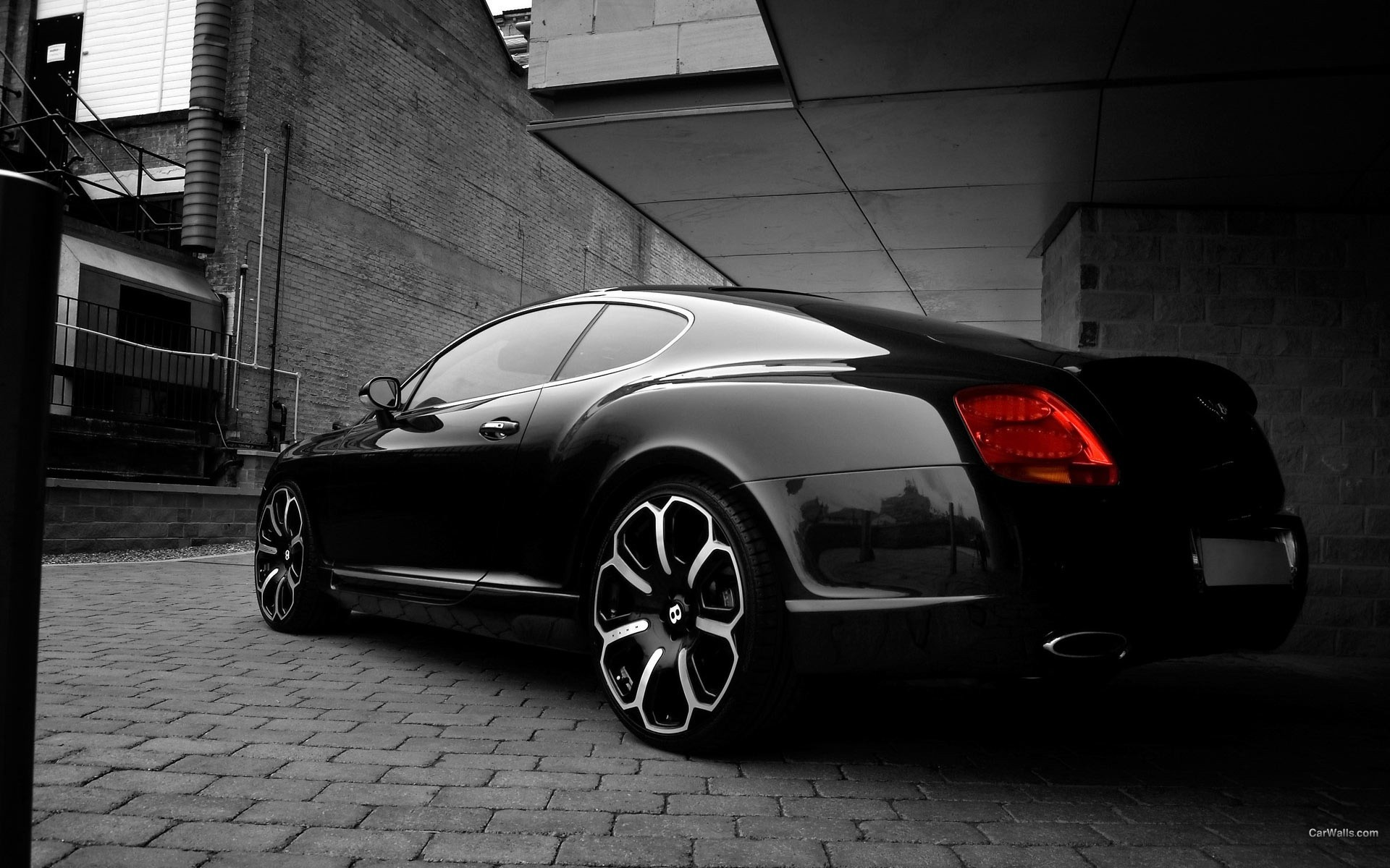 cars Bentley vehicles black HD Wallpaper