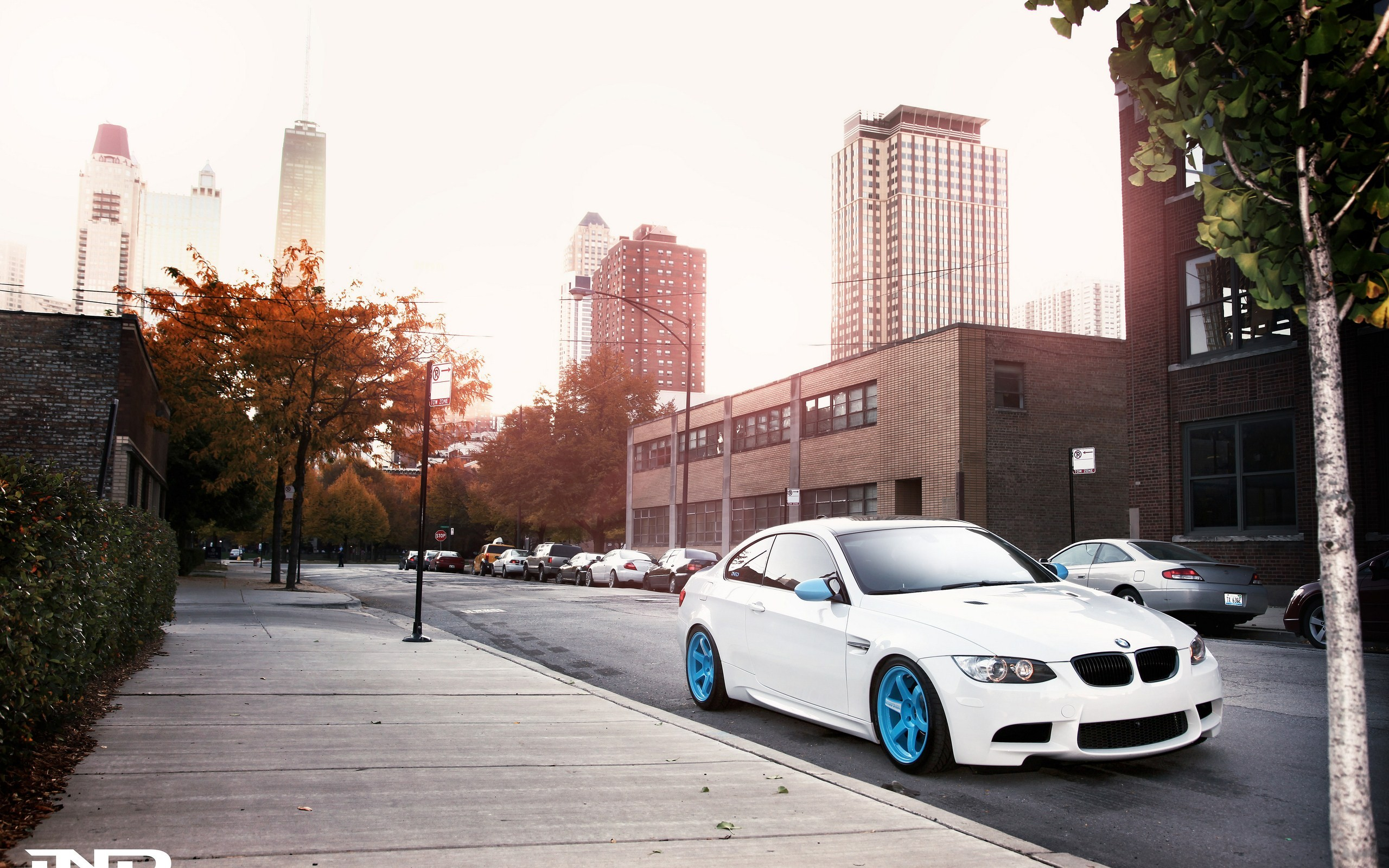 cars BMW bmw m3 cities streets HD Wallpaper