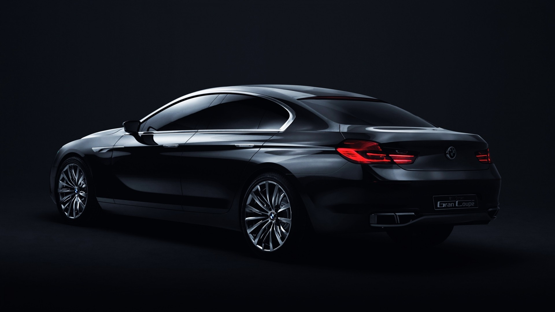 cars BMW Gran Coupe HD Wallpaper