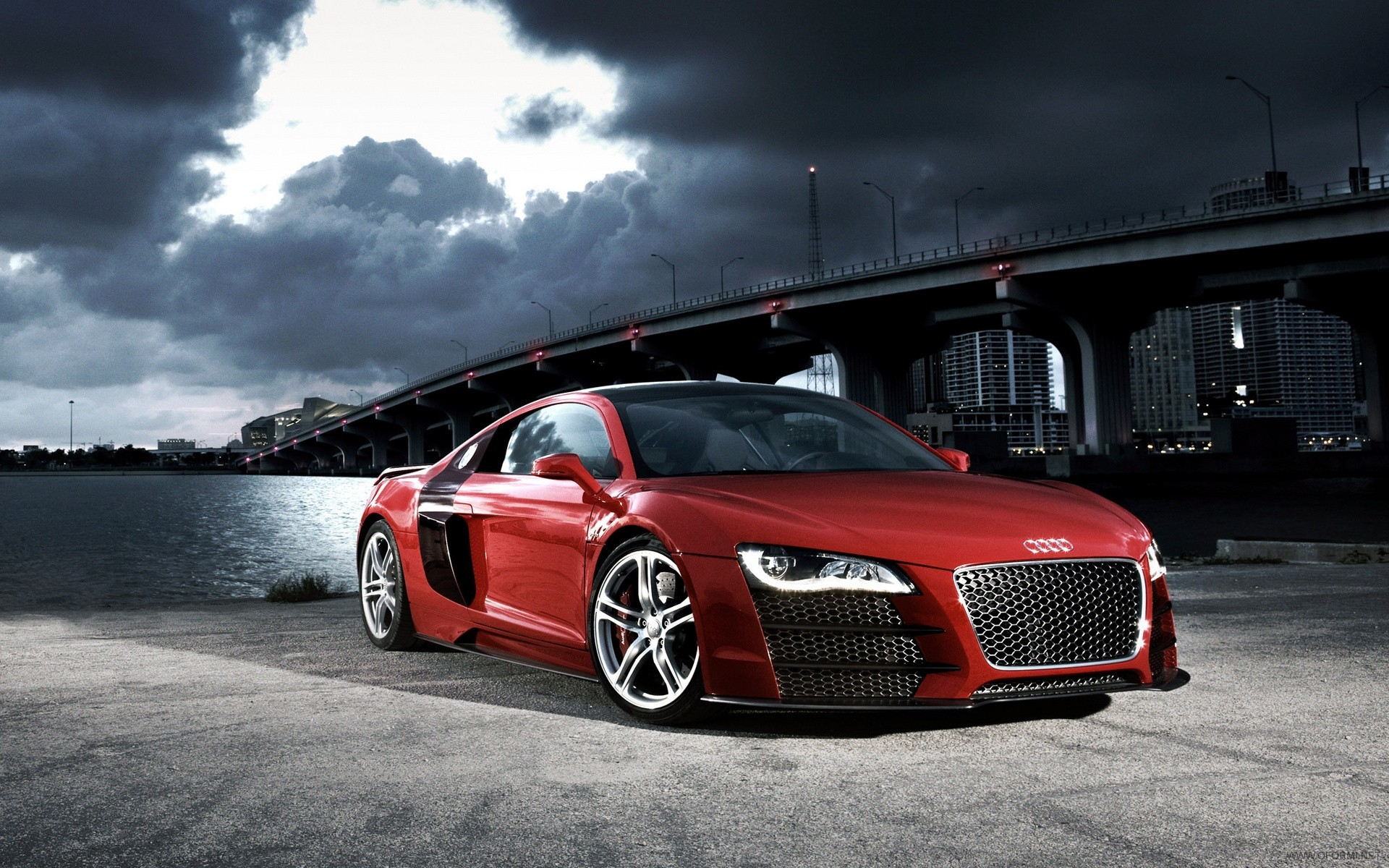 cars Bridges Audi audi HD Wallpaper