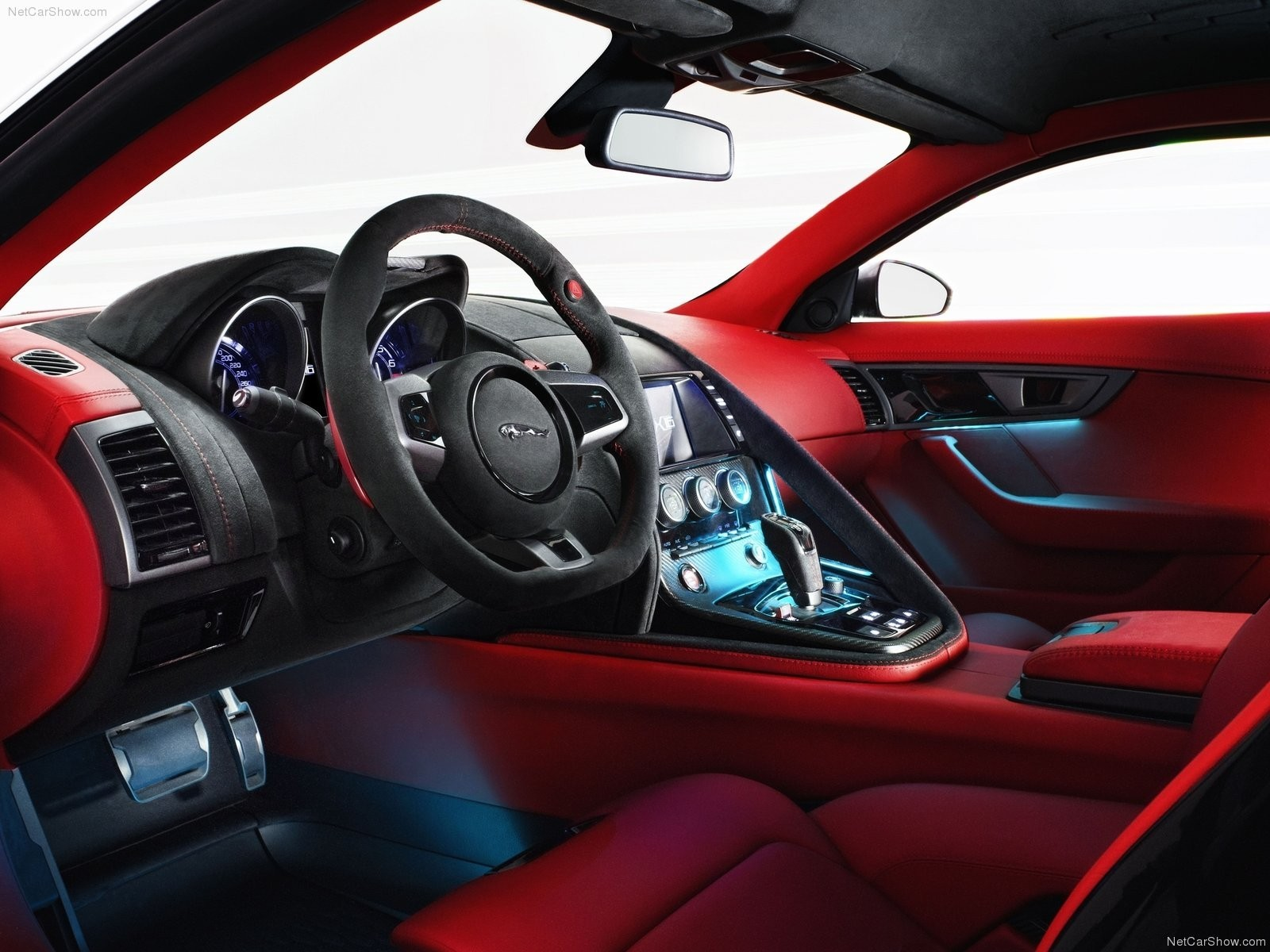 cars car interiors Jaguar HD Wallpaper