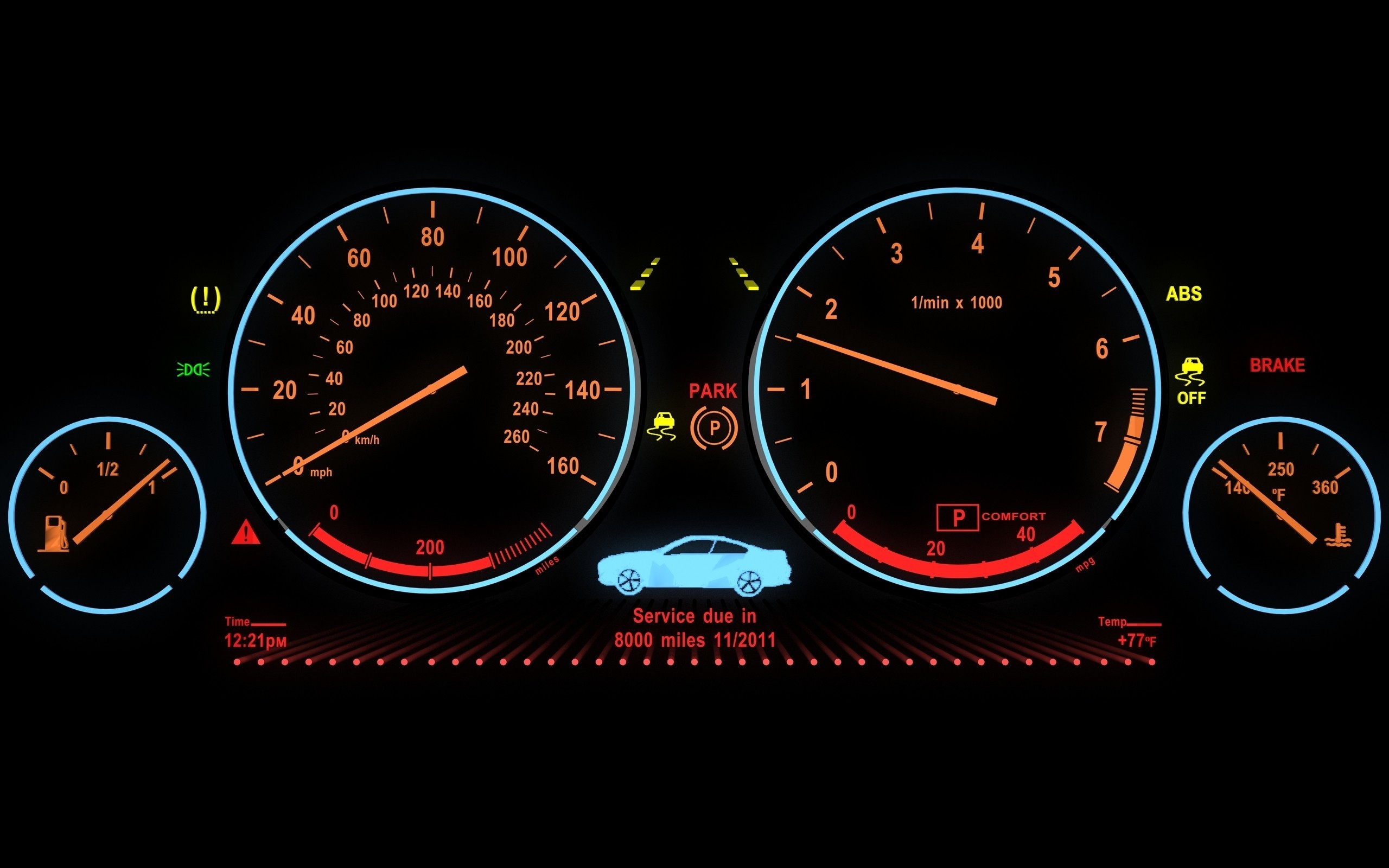 cars dashboards HD Wallpaper