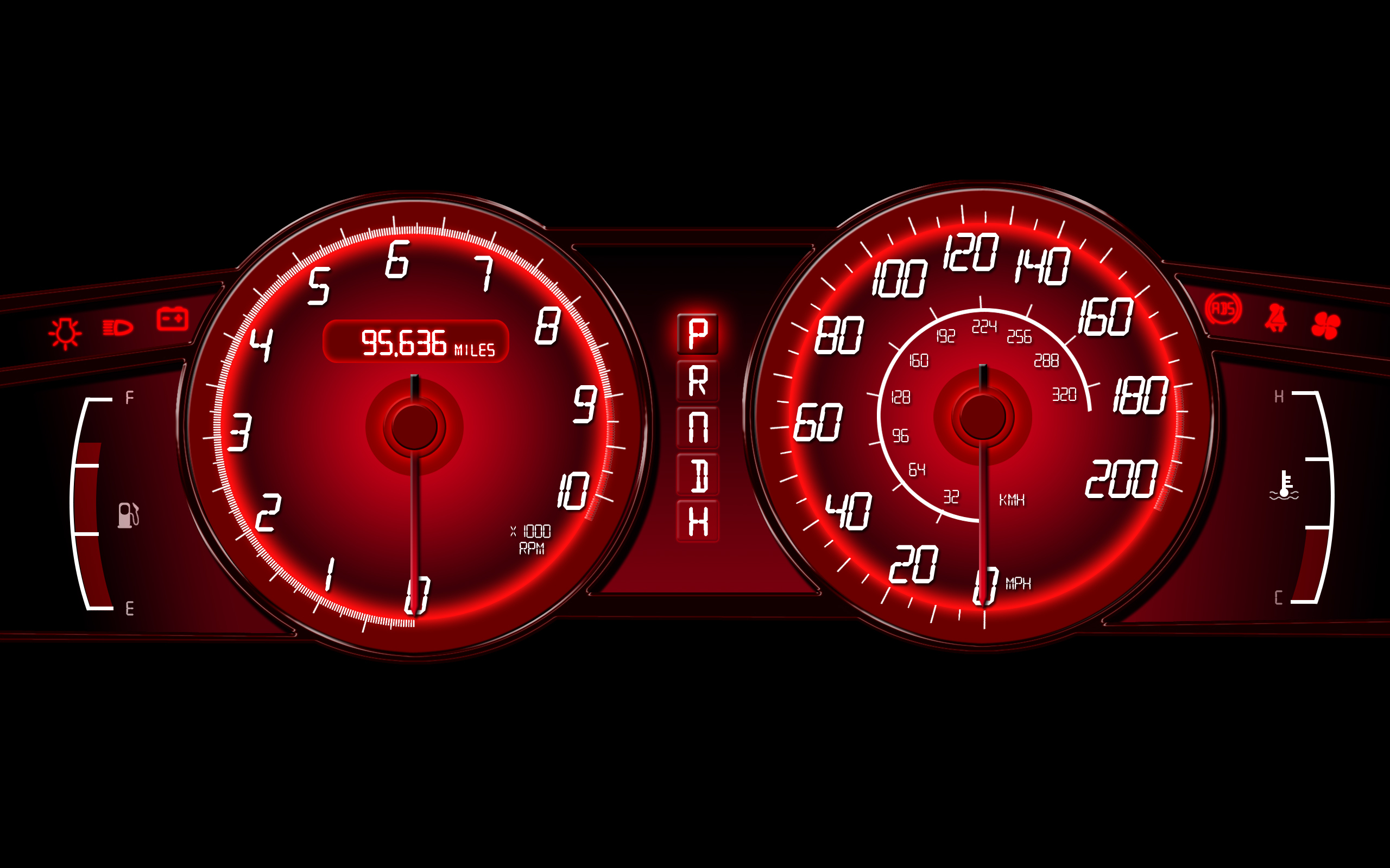cars dashboards speedometer HD Wallpaper